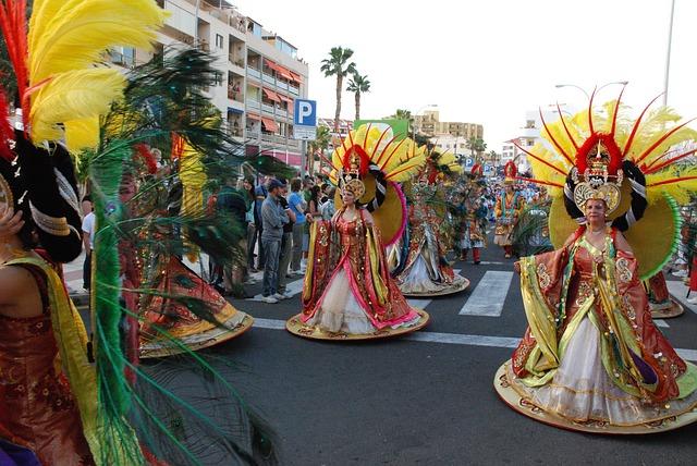 Тенерифе - карнавал