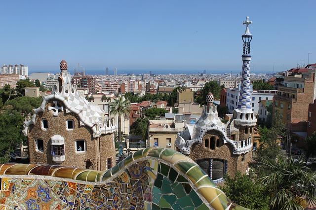 Туры в Барселону из Израиля - park guell